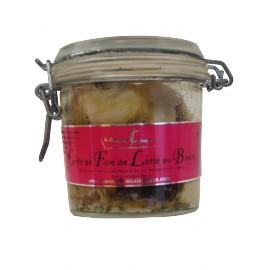 Confit de Foie de Lotte au Basilic