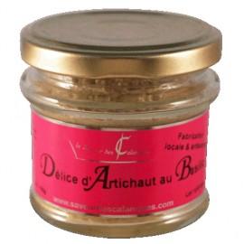 Délice d'artichaut au basilic